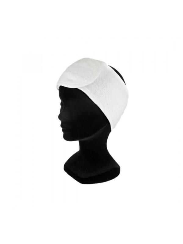 Bandeau Eponge Blanc 100% Coton Finition Biais+Velcro XLING0010 RCos